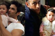 Sushant's photo with Dhoni's baby is the cutest thing you'll see today