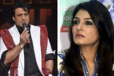 All's NOT well between Govinda and Raveena Tandon?