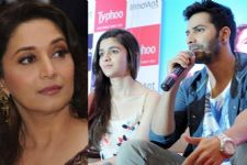 Madhuri's REACTION to Alia Bhatt-Varun Dhawan's 'Tamma Tamma'