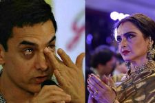 When Rekha brought tears in Aamir's eyes!