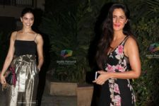 See what happened when Katrina and Deepika bumped into each other!