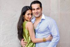 When Arbaaz Khan dropped in to celebrate with Malaika Arora