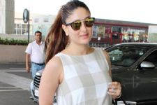 Kareena Kapoor SNAPPED on the sets post pregnancy!
