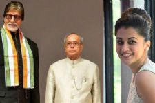 Big B, Taapsee to watch 'Pink' with President