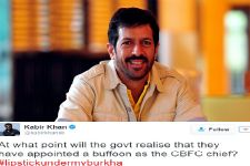 Kabir Khan slams CBFC for refusing certificate to 'Lipstick...'