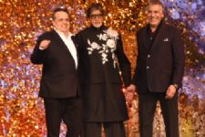 Amitabh Bachchan walks fashion ramp for charity