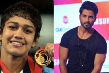 Shahid finds Babita Phogat an inspiration!