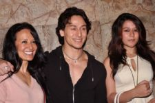 Tiger Shroff's Mom and Sister come to his RESCUE