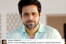 Emraan Hashmi takes a DIG at a publication, asks for apology!