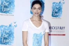 Deepika makes time for Live Love Laugh!