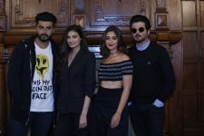Team Mubarakan indulges in a light-hearted press conference in London.