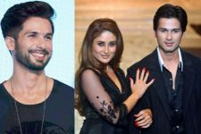 Shahid Kapoor's reaction when asked about Kareena is HILARIOUS