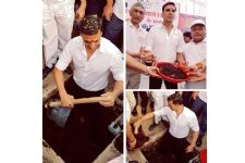 Akshay himself CONSTRUCTS a toilet in MP, shares pictures online...