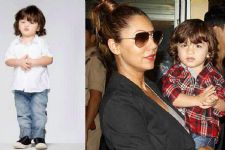 This is what AbRam did to his mommy Gauri Khan:Check out the pic below