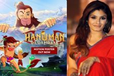 Raveena to voice Hanuman's mother in 'Hanuman Da Damdaar'