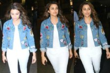#Stylebuzz: Parineeti Chopra Spices-Up Her Monotone Airport Look