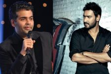 Karan Johar's SARCASTIC comments on Ajay Devgn!