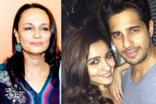 Alia Bhatt's Mom, Soni Razdan SPEAKS UP about her linkup with Sidharth