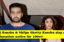 Shilpa Shetty - Raj Kundra SLAPPED this man with a DEFAMATION case