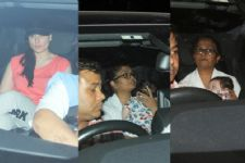 Kareena Kapoor SPOTTED taking her Baby boy Taimur Ali Khan on a drive