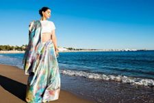 #Stylebuzz: Sonam Kapoor Ditches A Gown For A Sari At Cannes Film Fest
