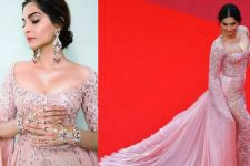 Sonam Kapoor looked Drop-Dead-Gorgeous at Cannes Red Carpet 2017