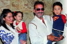 Here's what Sanjay Dutt does with his kids in the absence of his Wife