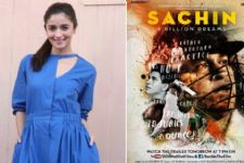 Alia Bhatt expresses her excitement for Sachin Tendulkar's biopic!