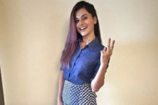 Taapsee revisits her school in Delhi