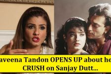 It was Sanjay Dutt who stole Raveena Tandon's HEART!