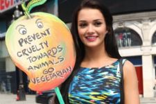 Go vegetarian: Amy Jackson urges with new PETA campaign