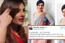 Raveena Tandon TROLLED for wearing a saree, here's how she RETALIATED