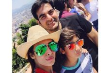 Arbaaz Khan and Malaika Arora come TOGETHER for their Son