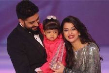 Aishwarya & Aaradhya's CUTE MOMENT captured by Papa Abhishek!