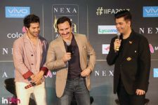 Karan,Varun and Saif gets slammed for 'Nepotism' chant!