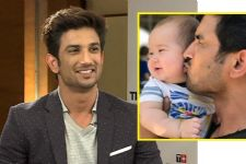 Candid pic of Sushant Singh Rajput Kissing a BABY is just too ADORABLE