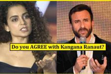 Kangana Ranaut's HARD-HITTING reply to Saif Ali Khan's OPEN LETTER