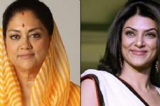 Raje invites Sushmita Sen to help make Rajasthan clean