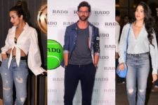 Hrithik Roshan, Malaika Arora And Shilpa Shetty - Papped Looking Fly