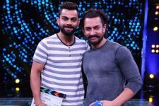Virat wants to learn Rubik's Cube technique from Aamir