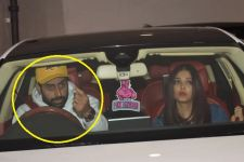 Abhishek Bachchan LOSES COOL, after finding Aishwarya UNCOMFORTABLE