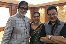 Kajol gets TROLLED on her picture with Big B and Kamal Haasan