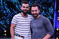 Aamir praises Kohli for supporting young sportsmen