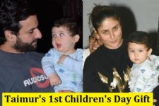Taimur Ali Khan's Children's Day Gift is just of NEXT LEVEL