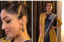 Yami Gautam dares to wear an Angrakha saree and SLAYS in it