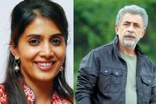 Sonali, Naseeruddin Shah bond over Marathi cinema