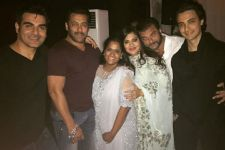 Two celebrations for Khan family by their son-in-law Aayush Sharma