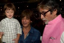 This is what AbRam THINKS about Amitabh Bachchan: CUTE pics below