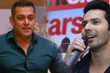 SAY WHAT: Varun Dhawan to step into Salman Khan's shoes once again