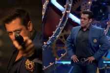 Salman Khan dons his Race 3 look on Bigg Boss!